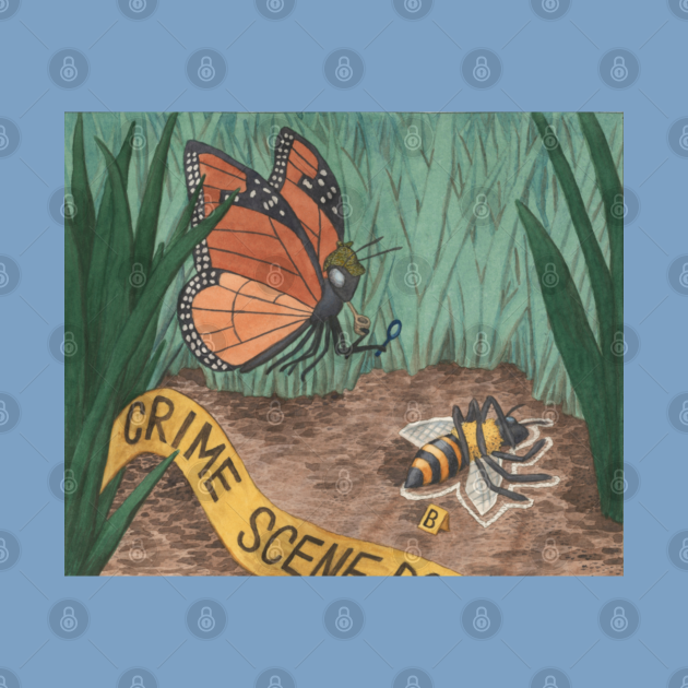 Detective Monarch and the Vanishing Bees