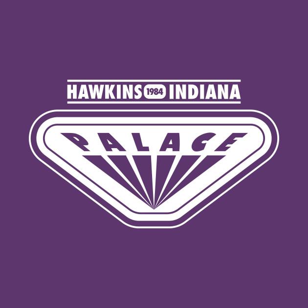 Stranger Things 2 Palace Arcade - Hawkins Indiana 1984 T-Shirt