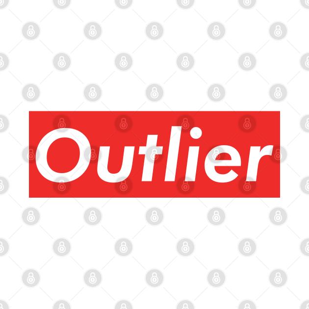 Outlier - Cool Data Scientist/Statistician Design