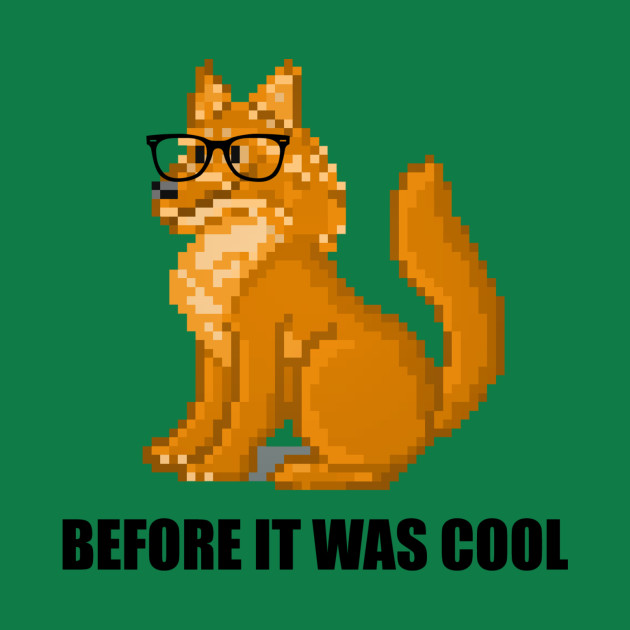 Hipster Coyote