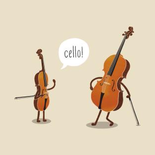 Cello! t-shirts