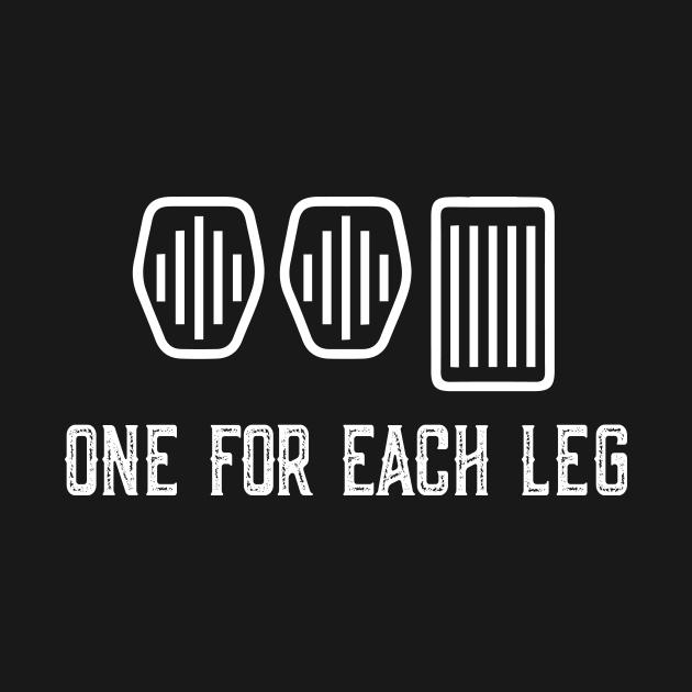 One For Each Leg Car Lover