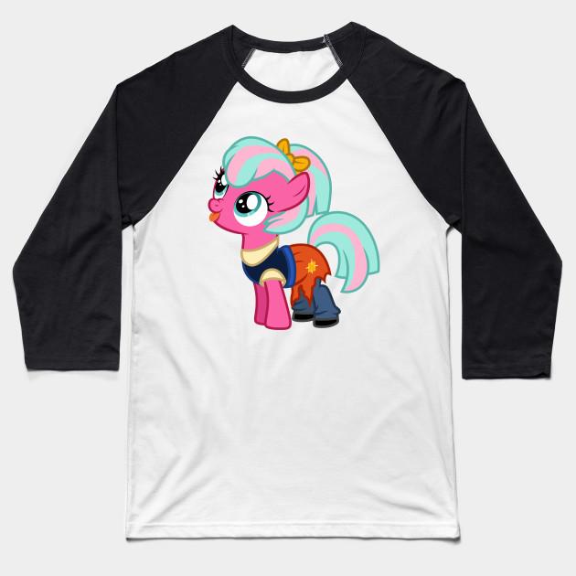 0f0253f7 Twirly Treats as Anne Marie - My Little Pony - Baseball T-Shirt ...