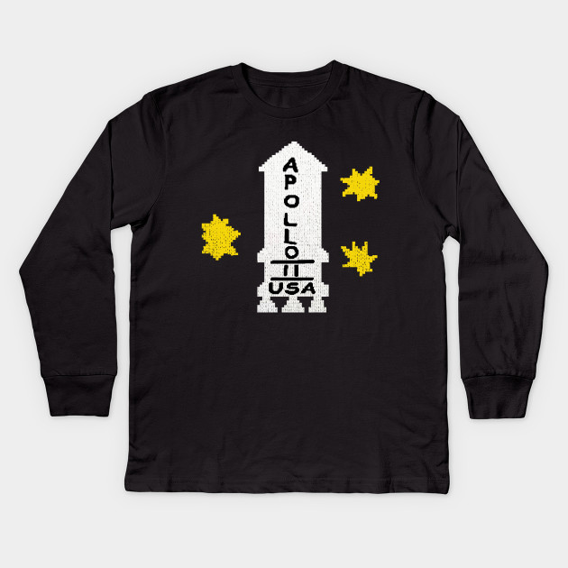 Dannys Apollo 11 Sweater The Shining Kids Long Sleeve T Shirt