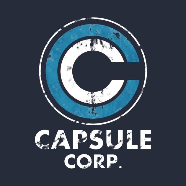 capsule corp logo - corp - t-shirt   teepublic