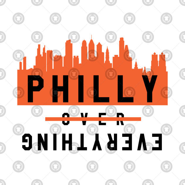 Philly over Everything - White/Orange
