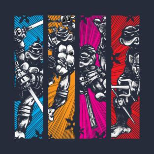 TMNT_Coming At Ya!! t-shirts