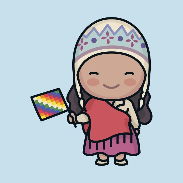 Cute South American Mountain Girl