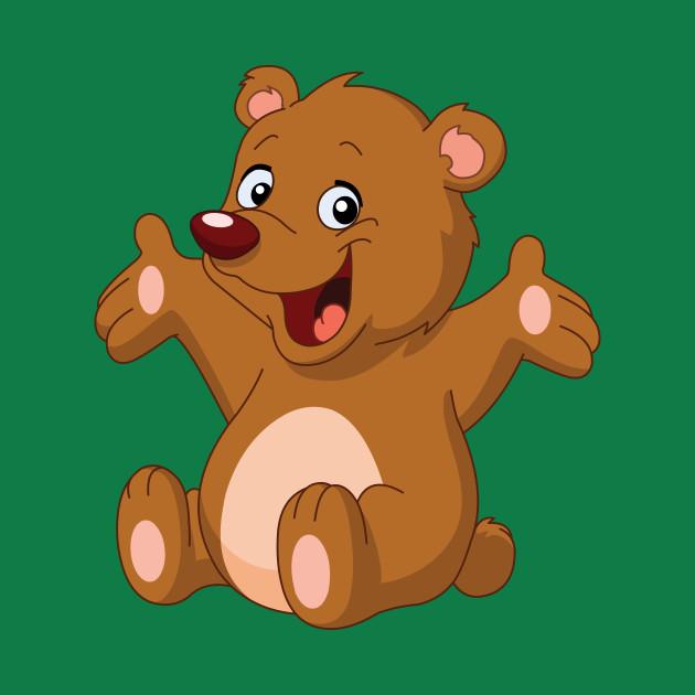 Happy Teddy Bear Teddy Bear T Shirt Teepublic