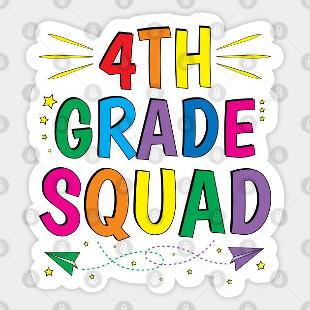 4th Grade Teacher Team Fourth Grade Squad - 4th Grade Squad ...