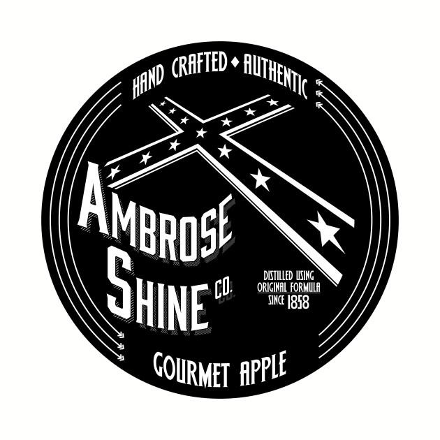 Ambrose Shine Co. (Black) label logo