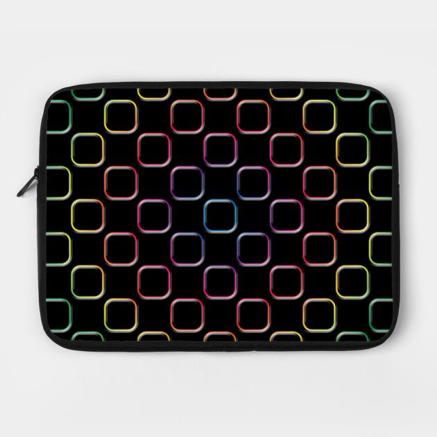 Embossed Square Motif 02