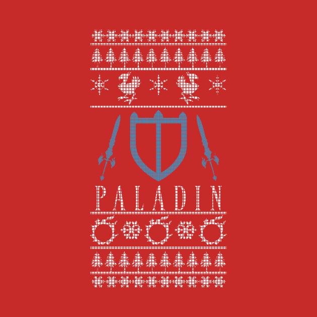 Final Fantasy XIV Paladin Ugly Christmas Sweater