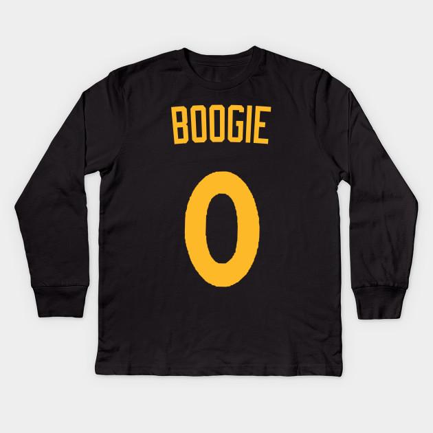 Demarcus Cousins  Boogie  Nickname Jersey - Golden State Warriors Kids Long  Sleeve T-Shirt 07a0835c2