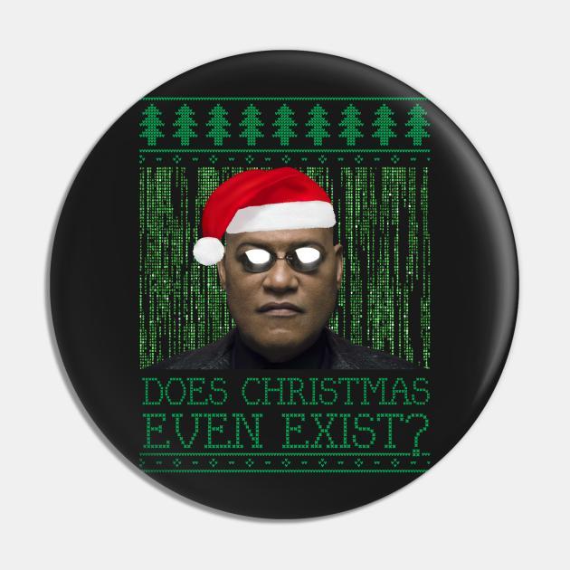 Matrix Morpheus Christmas Knit