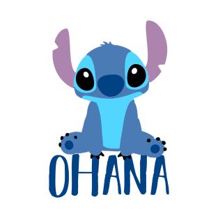 0ae28fd2ea Stitch Ohana T-Shirt. by MinimalistTShirts