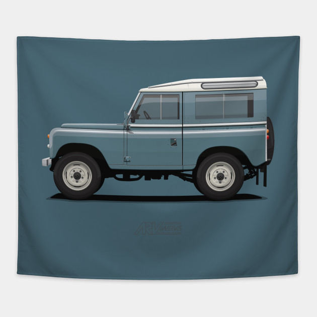 Land Rover Marin >> Series 3 Station Wagon 88 Marine Blue Land Rover Tapestry