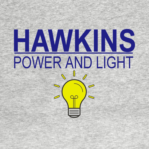 stranger things  - hawkins power and light