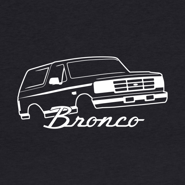 1992-1996 Ford Bronco Front Side