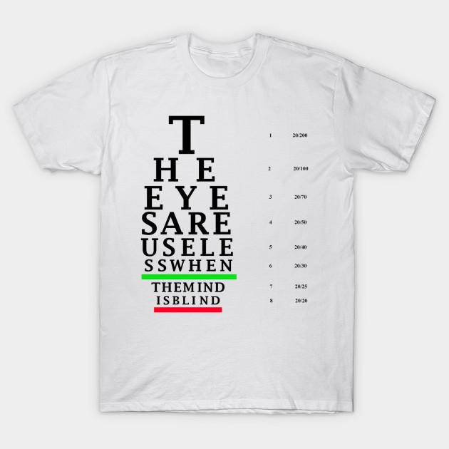 Eye Chart Courage T Shirt Teepublic