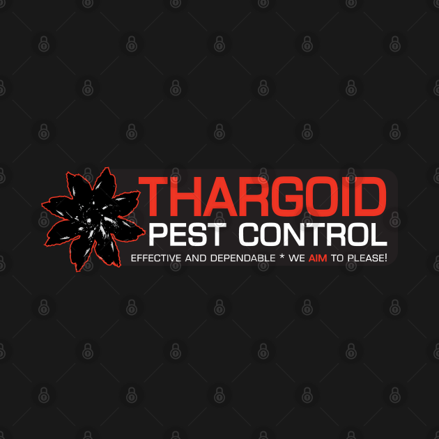 THARGOID PEST CONTROL RED