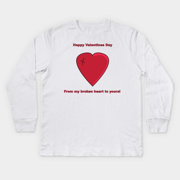 Valentines Day Shirt Valentines Kids Long Sleeve T Shirt Teepublic