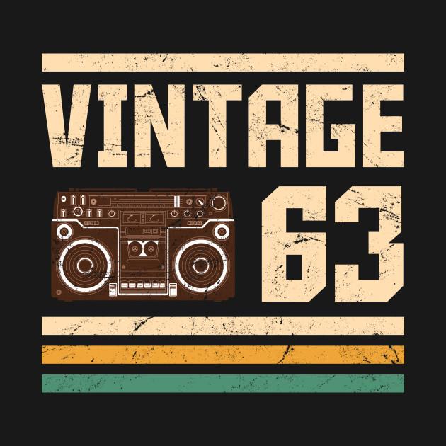 Vintage 1963  55 years birthday