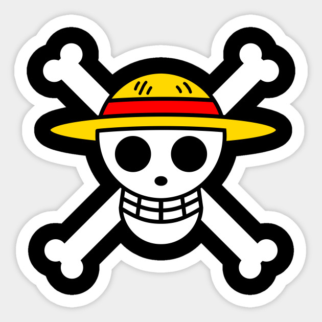 Straw Hat Pirates Jolley Roger Monkey D Luffy Black Variant