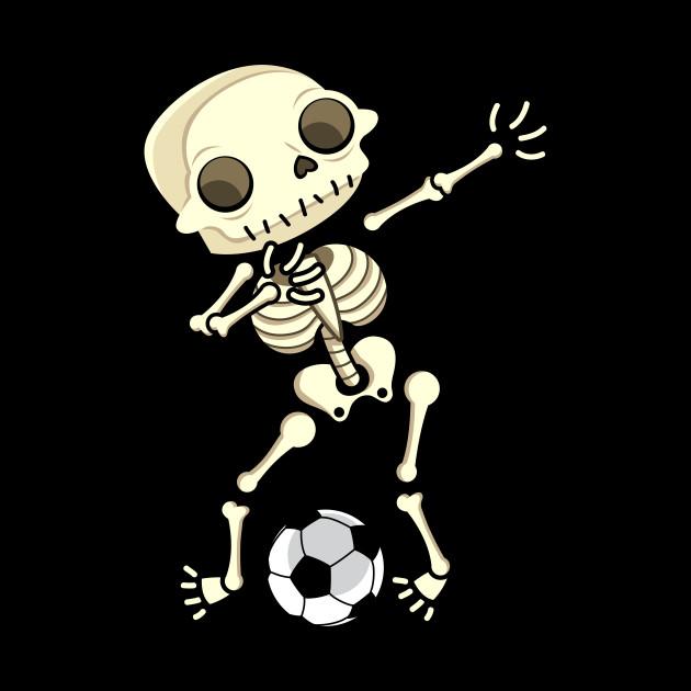 f4caa660 Dabbing Skeleton Soccer Halloween Dab T-Shirt - Halloween - Mug ...