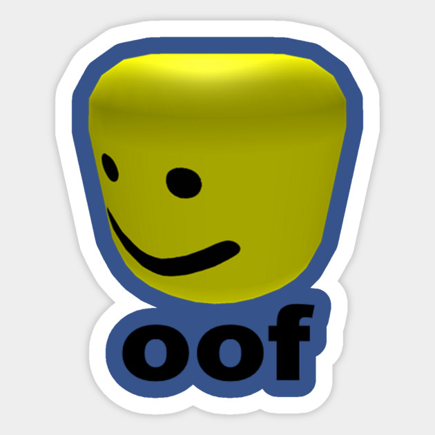 Roblox Oof By Cartoonystorage - stickers de roblox