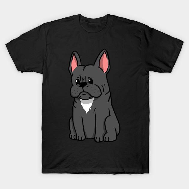 French Bulldog Cute Cartoon French Bulldog T Shirt Teepublic