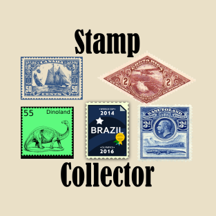 Stamp Collector T-Shirt