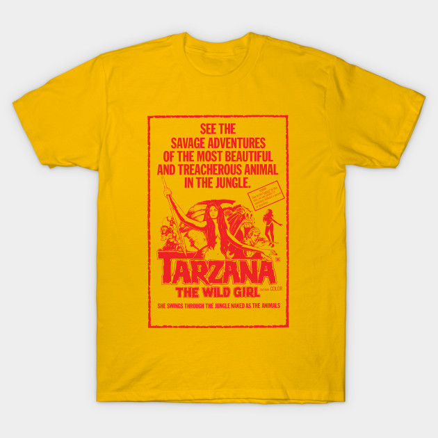 cheaper 0cb6d d99e5 Tarzana the Wild Girl (red)