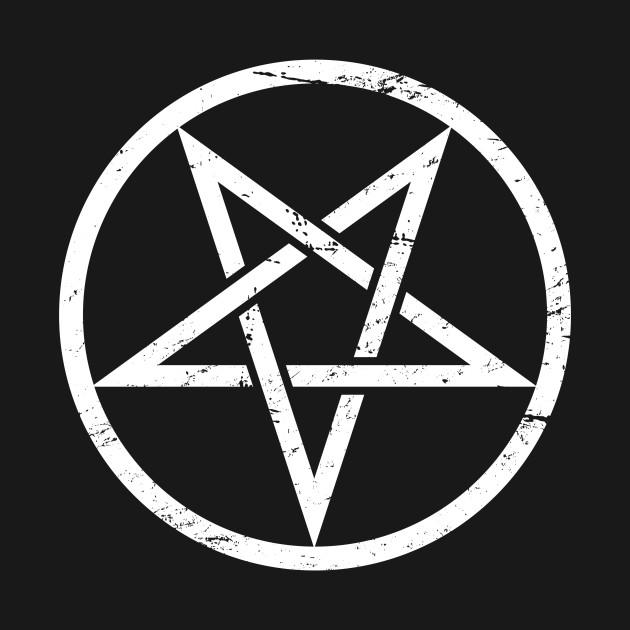 Goth Satanic Pentagram Goth T Shirt Teepublic