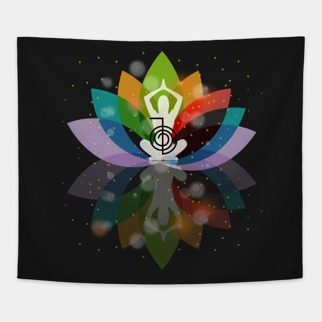 The Reiki Power Symbol Choku Rei Reiki Tapestry Teepublic
