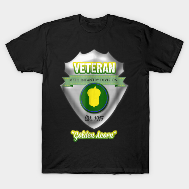 87th Infantry Division Veteran Tshirt T-Shirt