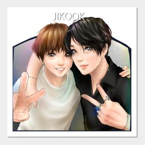Bts Jungkook Jimin Kpop Posters And Art Prints