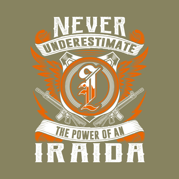 Never Underestimate The Power of IRAIDA Hoodie Black