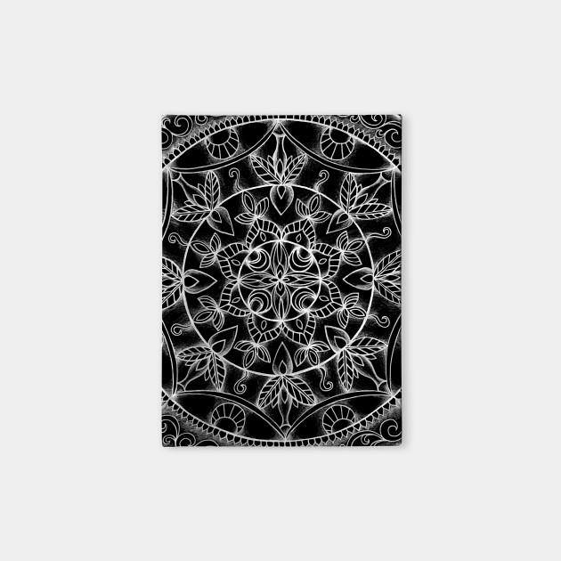 Flowery Mandala at Midnight