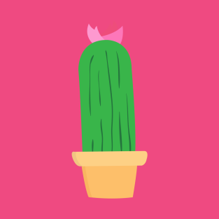 Flower cactus t-shirts
