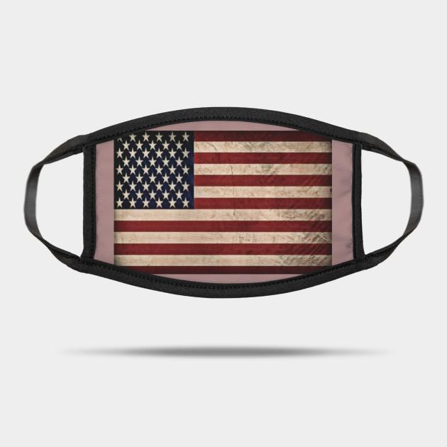 American flag mask - American Flag - Mask | TeePublic AU