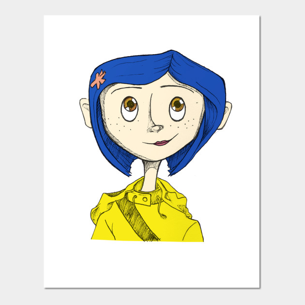 Coraline Coraline Posters And Art Prints Teepublic