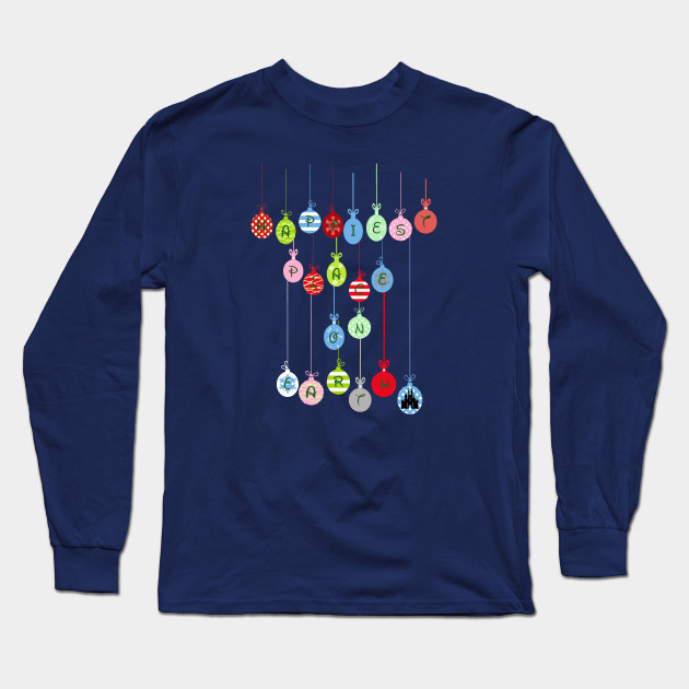 Happiest Place on Earth Long Sleeve T-Shirt