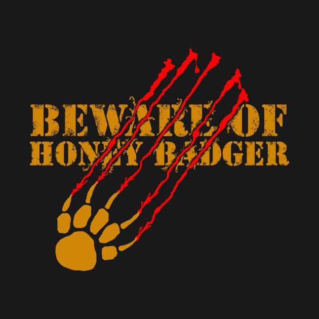 Beware of honey badger