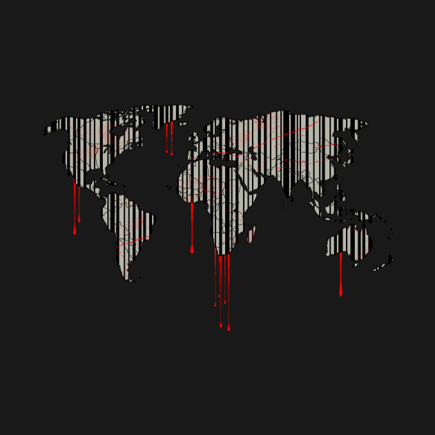 World map barcode blood dripping world map barcode blood 1011766 1 gumiabroncs Images