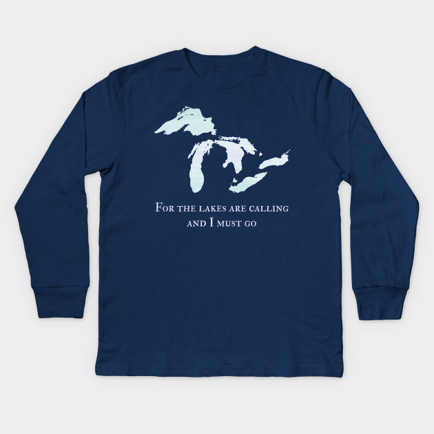 Michigan The Great Lakes Are Calling And I Must Go T-Shirt sGrArLXB