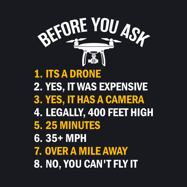 Before You Ask About my Drone