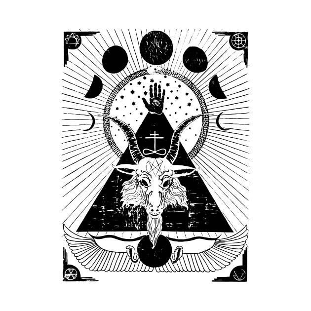 Cernunnos T-Shirt Celtic Horned God Paganism Pagan Tee