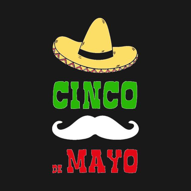Cinco De Mayo Mexican Flag Color