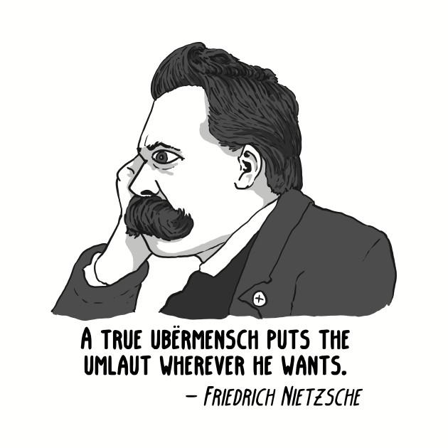 Nietzsche Umlaut